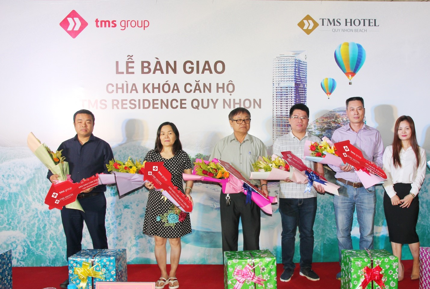 TMS Hotel Quy Nhon Beach hands over apartments to first clients