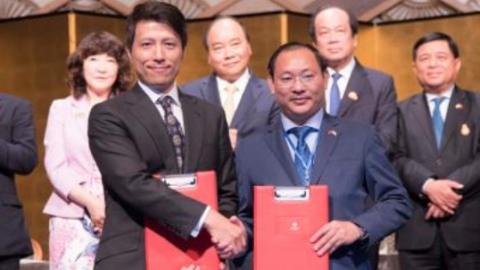日本企业将向TMS集团的项目投资5000万USD