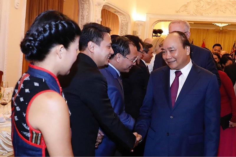 lãnh đạo TMS Group trong cuộc gặp mặt thủ tướng Úc