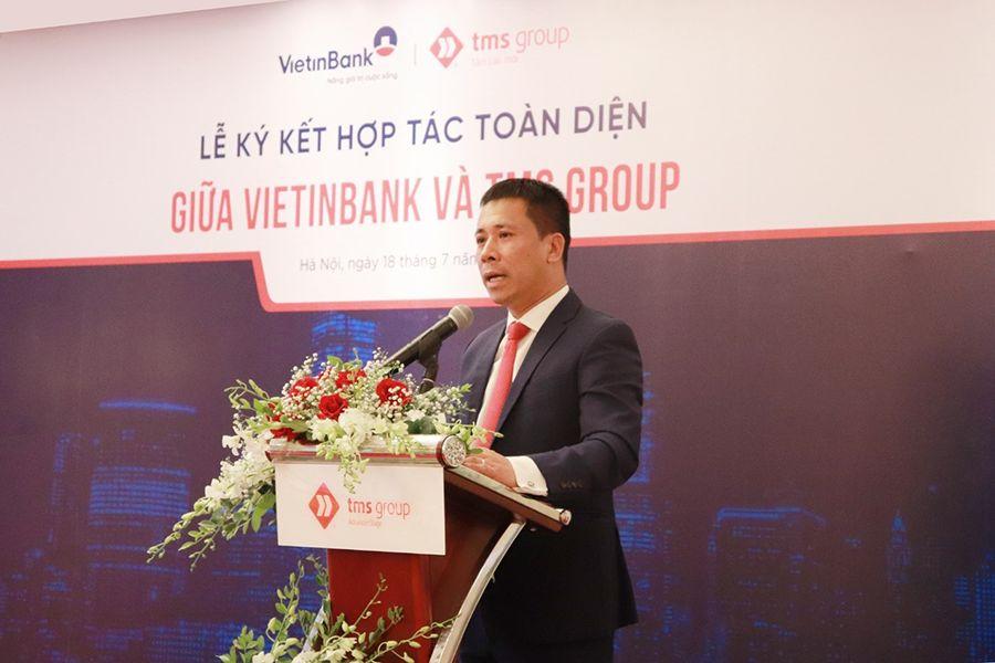 Ông Nguyễn Bá Luận - Chủ tịch HĐQT TMS Group