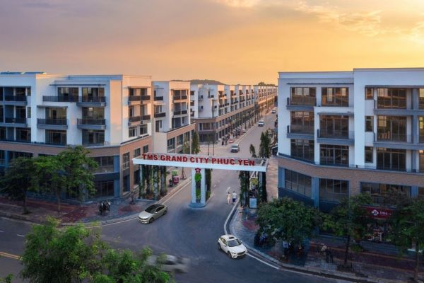 TMS Grand City Phuc Yen - Khu đô thị chuẩn Nhật giữa lòng thành phố Phúc Yên