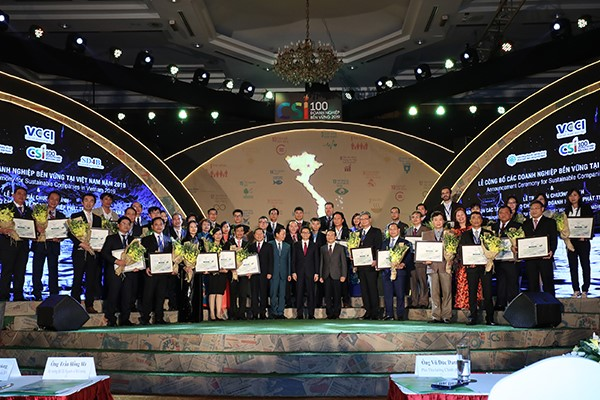 TMS Group nhận giải thưởng doanh nghiệp phát triển bền vững