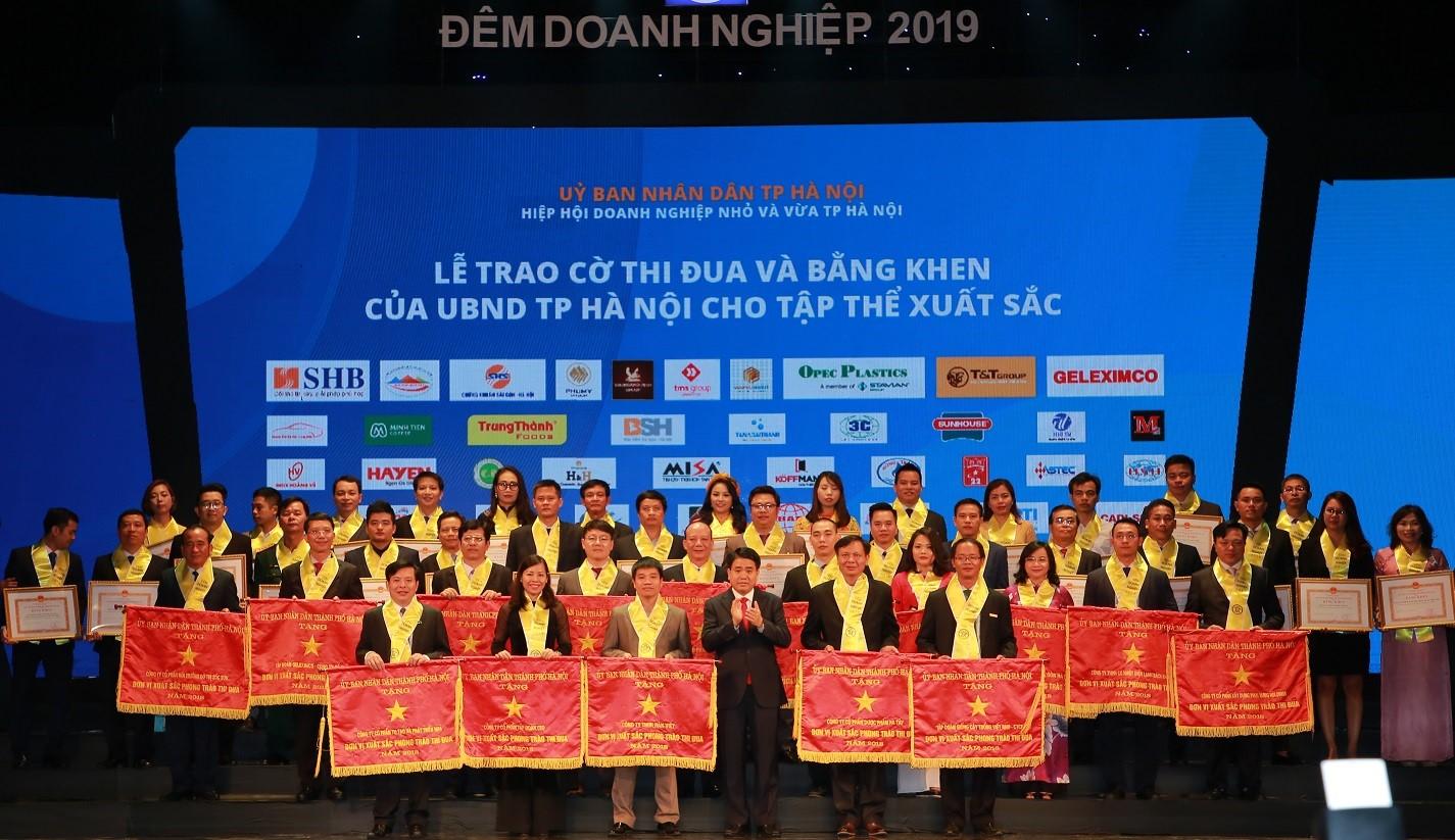 TMS Group được vinh danh tại Đêm Doanh Nghiệp 2019