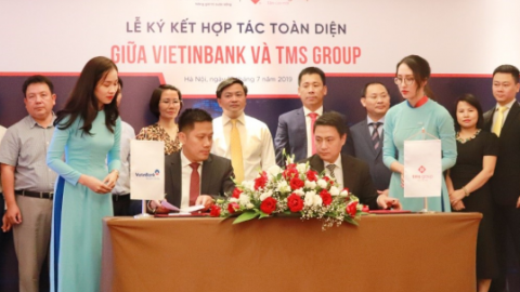 TMS GROUP AND VIETINBANK TO TIE, CUSTOMERS TO GET BENEFITS