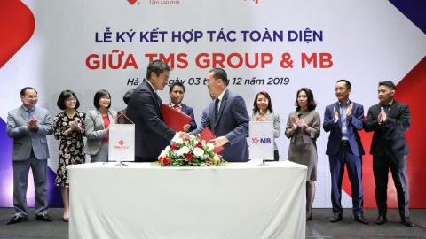 TMS Group và MB hợp tác toàn diện tăng cường hoạt động kinh doanh