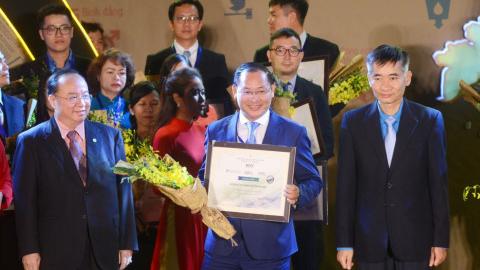TMS Group – 2 năm liên tiếp nhận giải thưởng Doanh nghiệp phát triển bền vững