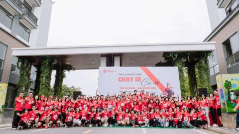 """Khu đô thị TMS Grand City Phuc Yen: """"Ngập tràn sắc đỏ"""""""