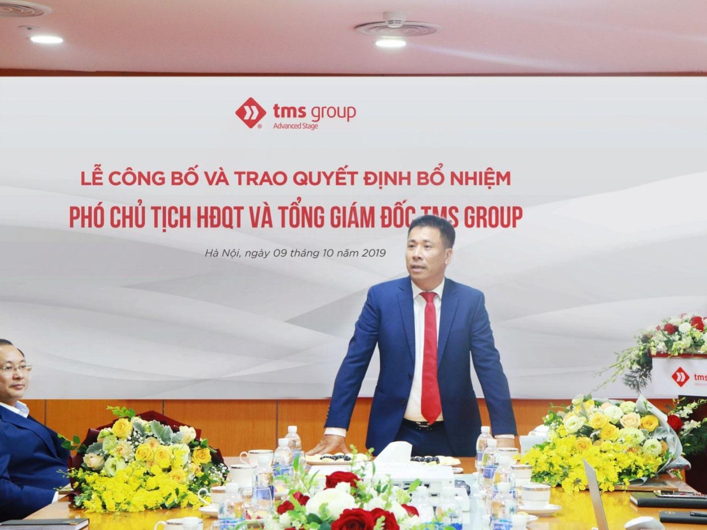 TMS Group bổ nhiệm lãnh đạo cấp cao